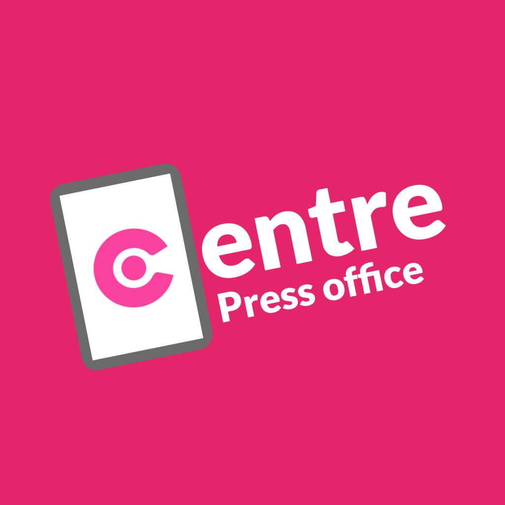 The logo for the Centre Press office