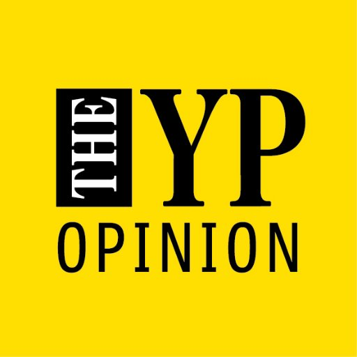 THE YP OPINION on a yellow background