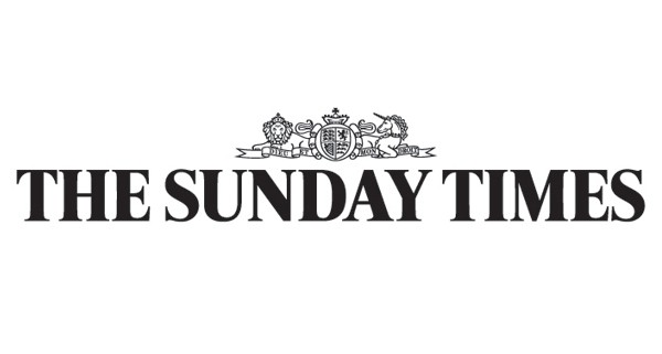 """The words """"The Sunday Times""""."""